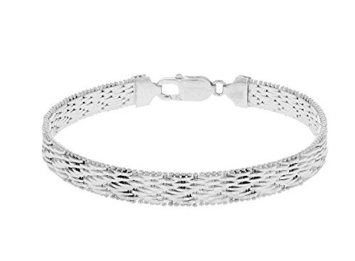 Tuscany Silver Bracciale da Donna in Argento Sterling 925