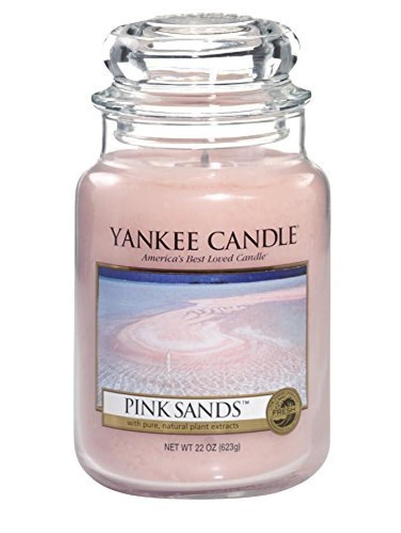タイトル気配りのある日没Yankee Candle Pink Sands Large Jar 22oz Candle by Amazon source [並行輸入品]