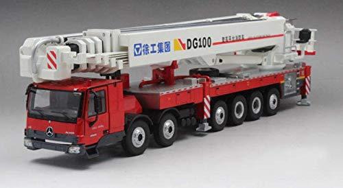 for XCMG DG100 Aerial Platform fire Truck and Fireman Figures Set 1/50 DIECAST Model Finished CAR Truck