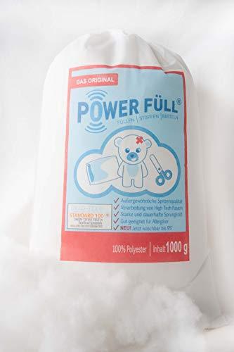 Füllwatte Power Füll 500g Ökotex antiallergisch waschbar 95°C hochflauschig