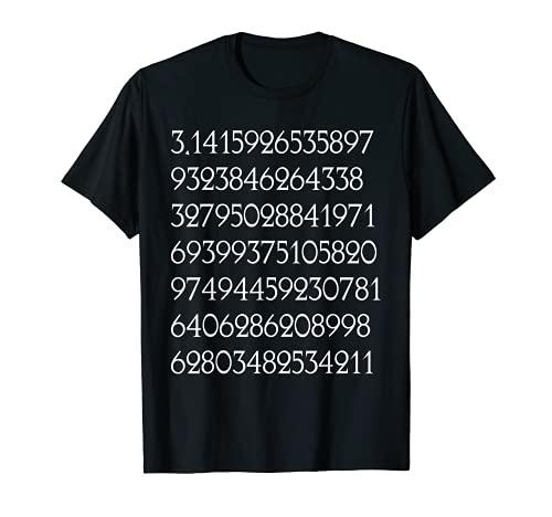 Cool matemáticas matemáticas Pi dígitos Camiseta