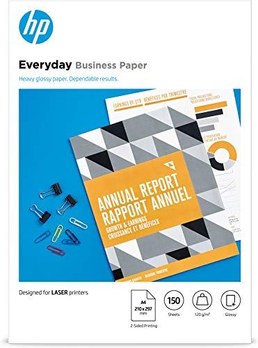 HP Everyday Business Laser-Papier (A4, 150 Blatt, glänzend, 120 g/m²)