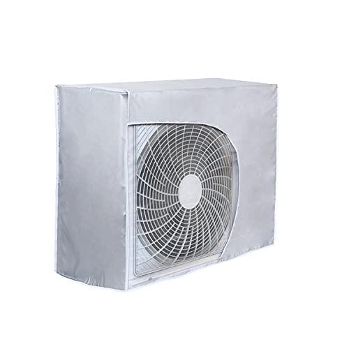 HOMEWINS Coperchio del condizionatore, Coperchio del climatizzatore per Esterni Anti-Polvere Anti-Neve Impermeabile Protector Climatizzatore Externa