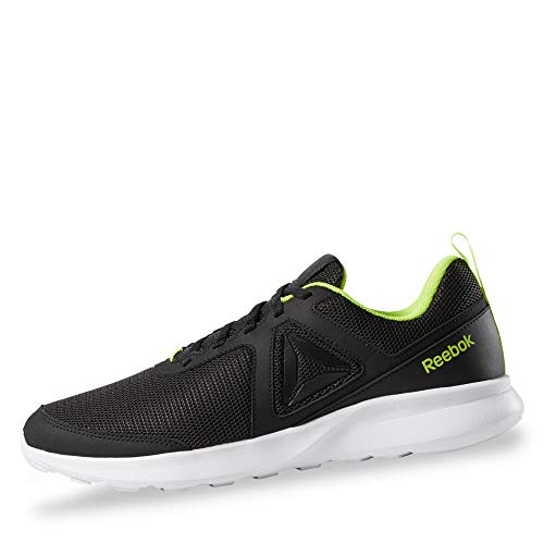 Reebok Quick Motion, Zapatillas de Trail Running Hombre, Multicolor (Black/Neon Lime/White/Cold Grey 000), 42 1/3 EU