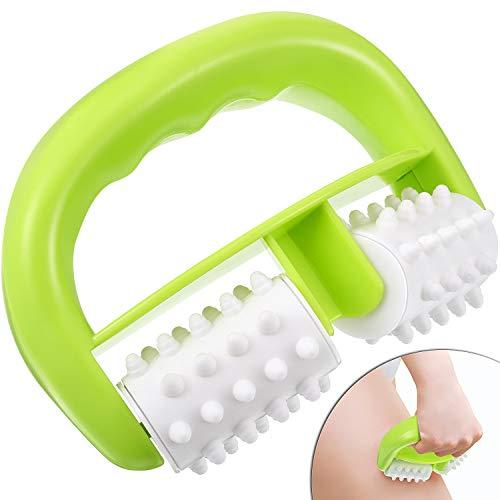 Anti Cellulite Massage Rolle Körper Rolle Bürste Nass/Trocken Verwendung für Massieren Reduzieren Cellulite, Körper Faszie Rolle Bürste für Frauen Männer Arme Schulter Gesäß Hinterbeine
