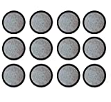 Premium Replacement Charcoal Water Filter Disks for Mr. Coffee Machines - 12 Pack