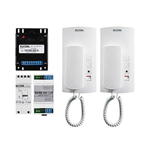 Elcom Audio-Einbaukit AEK-2 universal Türsprech-Set 4250111820028