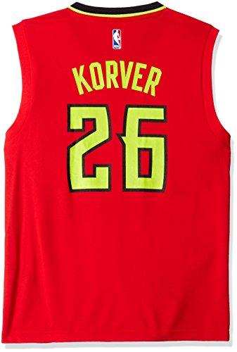 adidas NBA Atlanta Hawks Kyle Kover # 26Hombres Camiseta de Jersey, Hombre, Alternate Road, Alternate Road
