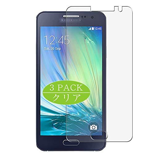 VacFun 3 Piezas HD Claro Protector de Pantalla Compatible con Samsung Galaxy A3 2014 2015 / A300F / A300FU / A300G / A300H / A300M, Screen Protector Protectora (Not Cristal Templado) New Version