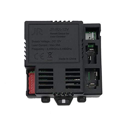 LinkePow JR Ricevitore Match 2.4G Bluetooth Telecomando, 12V RX Control Box Scheda Madre per Bambini Elettrico Ride On Auto Parti di Ricambio