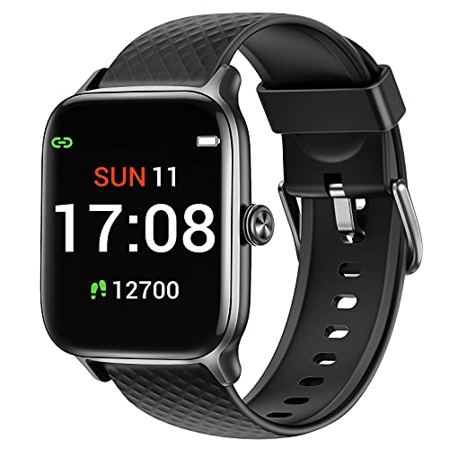 Letsfit Smart Watch Compatible with iPhone and Android Phones, Fitness...