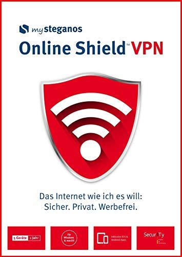 mysteganos Online Shield VPN - Das Internet wie ich es will: Sicher. Privat. Werbefrei! Für Windows, MacOS, Android oder iOS [Download]