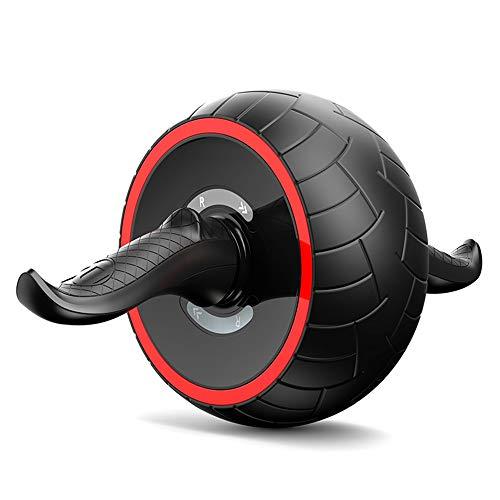 DHR-roue abdominale fitness Rouleau ab for entraînement abs, rouleau for roue ab avec tapis for genou, équipements de travail for hommes, machine Ab for gymnastique à la maison, charge de 330 lb