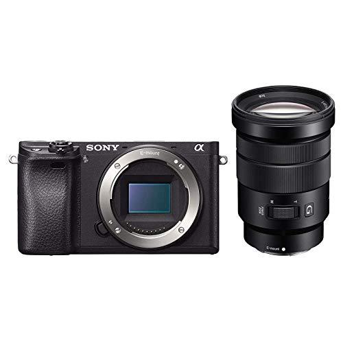 Sony α 6300 + 18-105mm F/4 G OSS kit MILC 24,2 MP CMOS 6000 x 4000 Pixel Nero