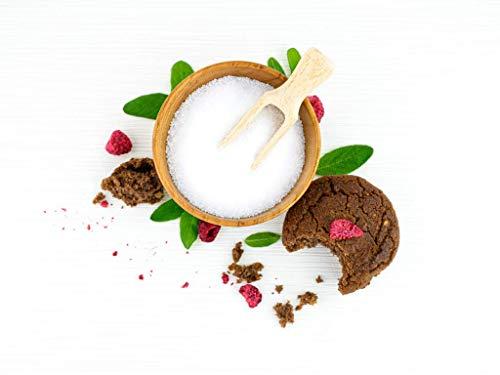 5x KETOFAKTUR® KETO-Süße No08 | 100% zuckerreduziert | KETOGEN | GLUTENFREI | VEGAN | sojafrei, weizenfrei, ohne Palmfett, mit Erythit | low carb high fat | Paleo, Diabetiker geeignet