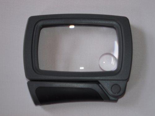 Möller-Therm 501229 Leuchtlupe Klapplupe mit LED-Beleuchtung
