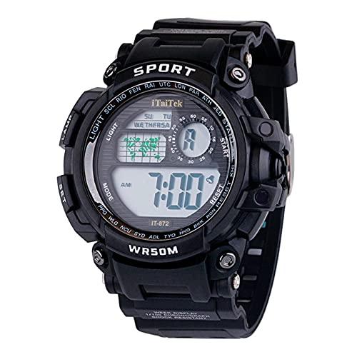 orologio fitness cardiofrequenzimetro TT-Kid Orologio da polso impermeabile digitale multifunzionale sportivo digitale