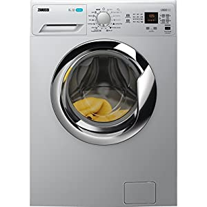 Zanussi ZWF8230SSE Independiente Carga frontal 8kg 1200RPM A+++ Plata – Lavadora (Independiente, Car