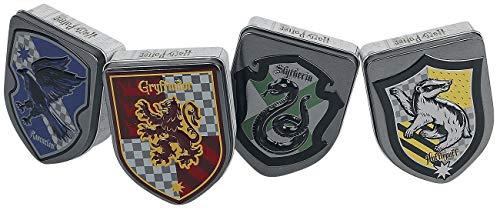 Caja metal Escudos Casas Harry Potter Jelly Beans surtido
