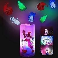 Lumière multifonction étonnante : le projecteur de Noël peut offrir un effet de lumière et une sensation romantiques. Découvrez une gamme d'options d'éclairage pour toutes les occasions pour toute la famille : des lumières stroboscopiques pour les di...