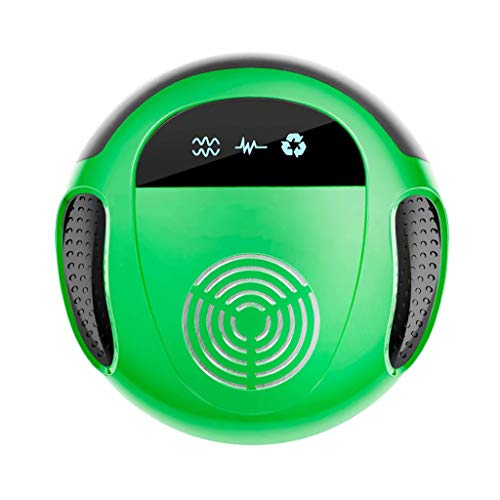 Y & Z Répulsif à ultrasons Portable Pet Safe Device-Repels Away Anti Moths, Fleas, Bed Bugs, Mosquito, Mice, Wasp Green