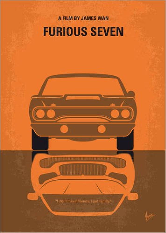 online barato Lienzo 60 x x x 80 cm  No207 7 My Furious 7 Minimal Movie Poster de chungkong - Cuadro Terminado, Cuadro sobre Bastidor, lámina terminada sobre Lienzo auténtico, impresión en Lienzo  tienda de venta