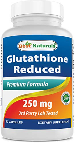 Best Naturals L-Glutathione 250 mg 60 Capsules