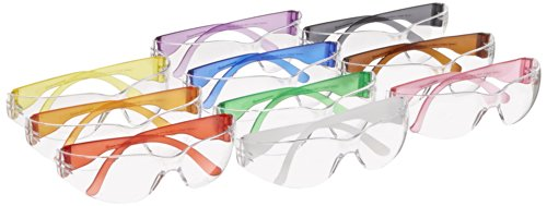 Gateway Safety 3699 Colorful Starlite Gumballs Safety Glasses, Small, All Colors Included (Pack of 10) Color Variation