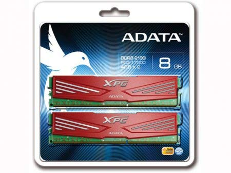 A-DATA XPG V1.0 Series DDR3-2133 4GB×2枚 240pin Unbuffered DIMM AX3U2133XW4G10-2X