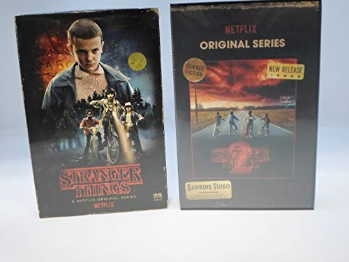 Stranger Things Season 1 and 2 Limited Edition (Blu-Ray/DVD) in Collectible Faux VHS Packaging