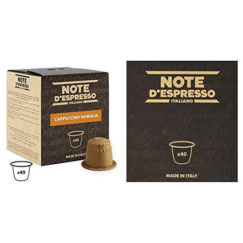 Note D'Espresso - Cápsulas de capuchino de vainilla...