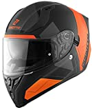 Bogotto V128 Strada Helmet Casco Nero opaco/Arancione