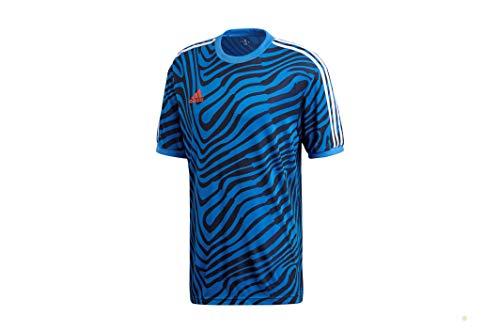 adidas Tango Ant JSY - Camiseta deportiva para hombre - CZ4119 azul L