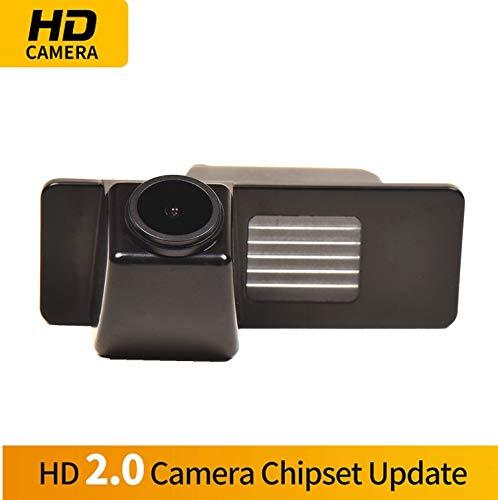 Farbkamera Wasserdicht Rückfahrkamera kennzeichenbeleuchtung Kamera KFZ Rückfahrsystem mit Einparkhilfe Nachtsicht für Chevrolet Aveo Cruze Trailblazer Opel Mokka Cadillac Cts SRX