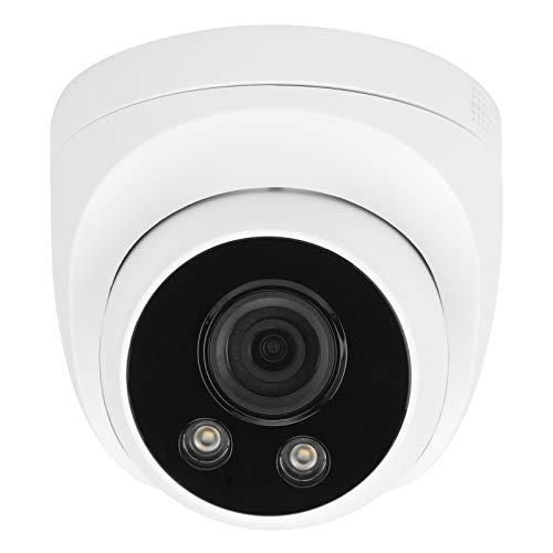 Cámara WiFi 1080P Detección de movimiento facial Radio de 2 vías Visión nocturna a todo color Cámara de seguridad CCTV Cámara de intercomunicación Cámara de detección facial para sistemas(EU)