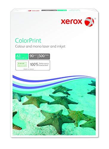 Xerox 003R95256 Premium - Papel para impresión láser de color, DIN A3, 90 g/m², 500 hojas, color blanco