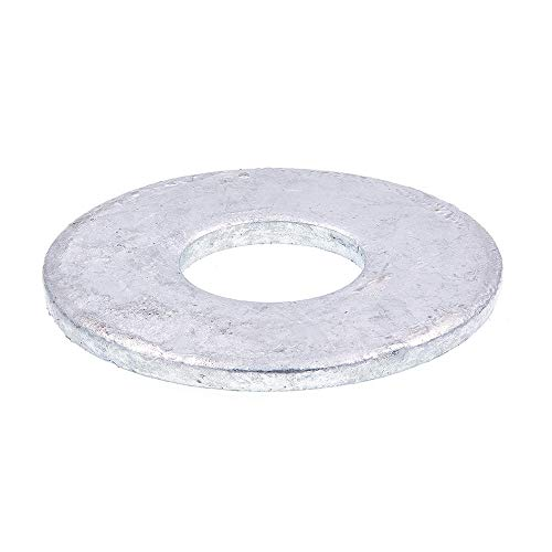 Prime-Line 9080383 Flat Washers, USS, 3/4 in. X 2 in. OD, Hot Dip Galvanized Steel, 10-Pack