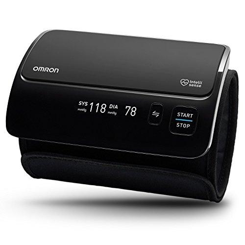Omron Tensiómetro Evolv Smart inalámbrico todo en uno con Bluetooth, monitor para la presión arterial, compatible con dispositivos smartphone, para tu hogar
