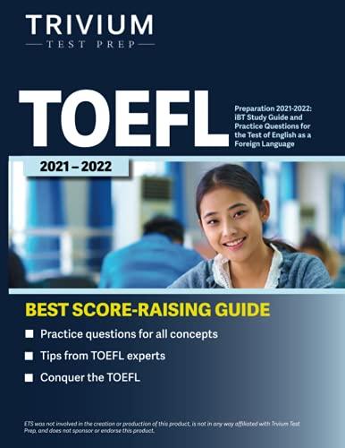 TOEFL Preparation 2021-2022: iBT...