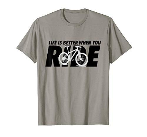 Funny Mountain Biking Bike Life MTB Cycling Bicycle Gifts T-Shirt