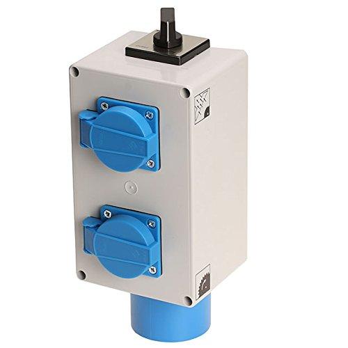 Einschaltautomatik 1Ph-230V mit Umschaltung für Absaugung
