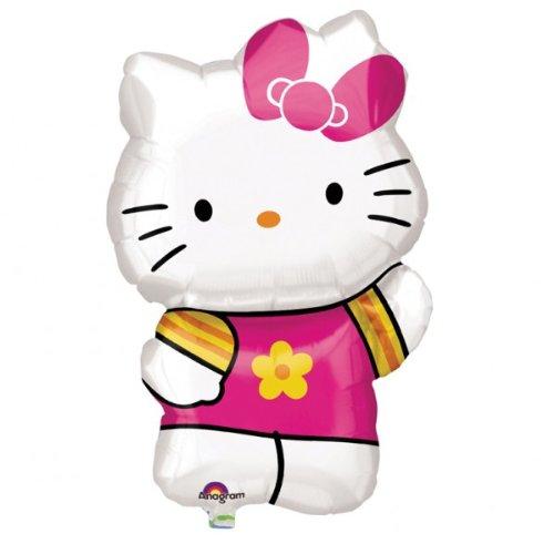 Hello Kitty Summer Supershape Foil Balloon