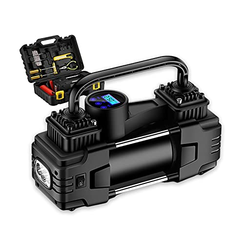 LZH FILTER Inflador de Neumáticos Automático Digital 12v CC, Bomba de Compresor Aire Portátil con Manómetro Digital, Utilizado En Automóviles, Bicicletas Y Otros Equipos de Inflado