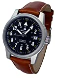 All Stainless Steel Military Automatic Watch Aeromatic Germany A1372X-2