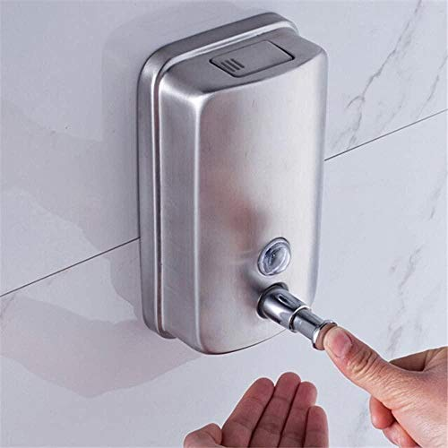 AGQG Triple Stainless Steel soap and Shampoo Dispenser Sufficient Inventory