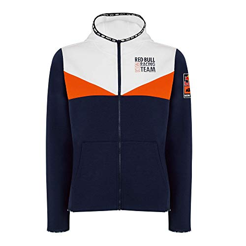 Red Bull KTM Fletch Zip Sudadera con Capucha, Mujeres XX-Small - Original Merchandise