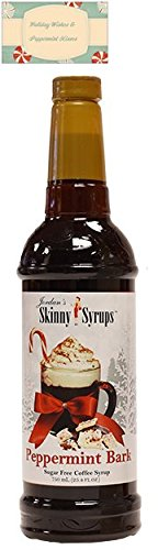 Jordan's Skinny Syrup Peppermint Bark with Gift Card