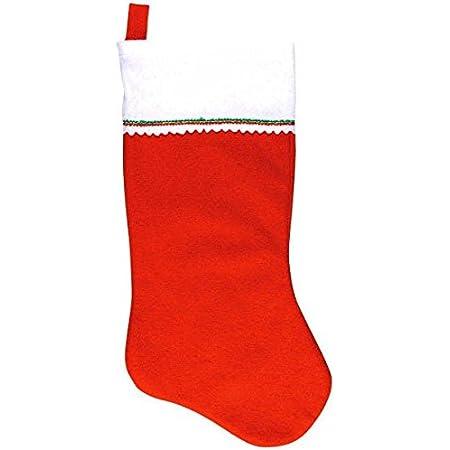 amscan Red Santa Felt Stocking Christmas Decoration