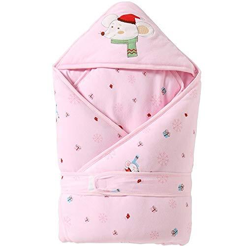 HS-01 Baby-Schlafsack/Sack, 6-18 Monate, Removable Schichten for Winter/Sommer-Temperaturregelung, 100% Baumwolle, Easy Nappy Ändern
