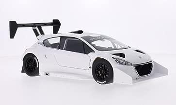 Peugeot 208 T16, white, Pikes Peak, 2013, Model Car, Ready-made, AutoArt 1:18